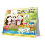 Morinaga CK-3 Step 3 (1-7 years) 700g x 4 Free Talking Hamster