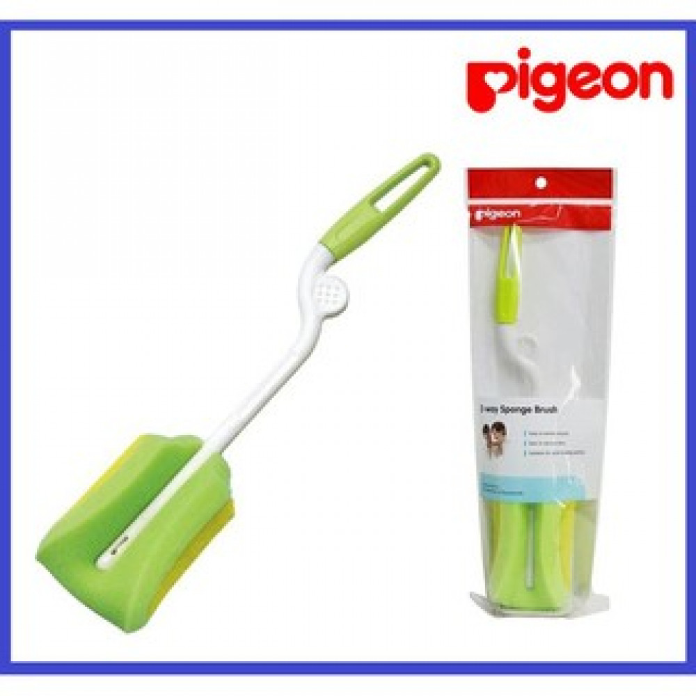 Pigeon Sponge Brush Bottle Brush Baby