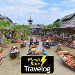 Pattaya: Floating Market Entrance Ticket