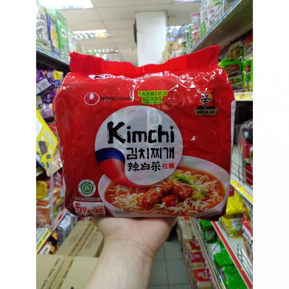 Nongshim Kimchi Ramyun 辣白菜拉面 5Packs 300g
