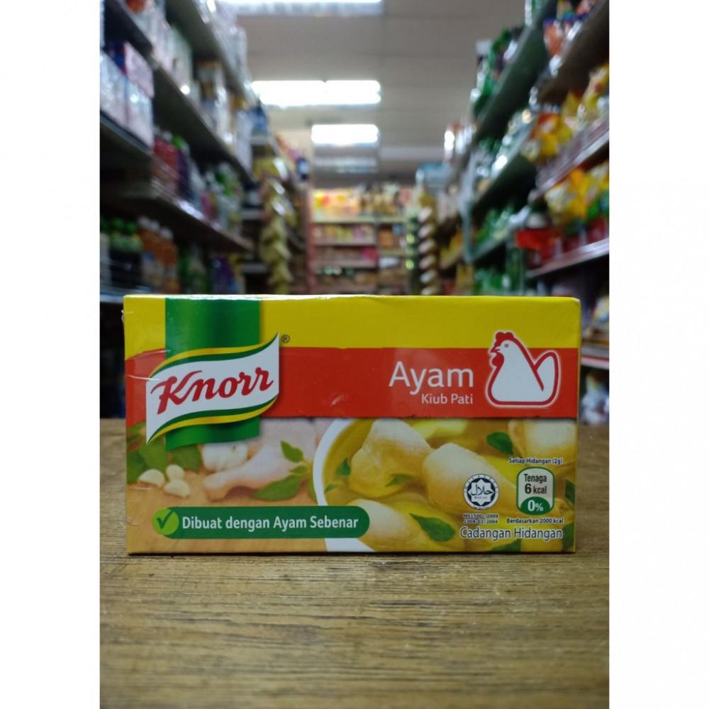 Knoss Ayam Kiub Pati Chicken Soup Enchancer 鸡肉汤味精 6Cubes
