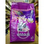 Whiskas Mackerel Flavour Ikan Kembung Junior 2-12Mths Mother and Baby Cats