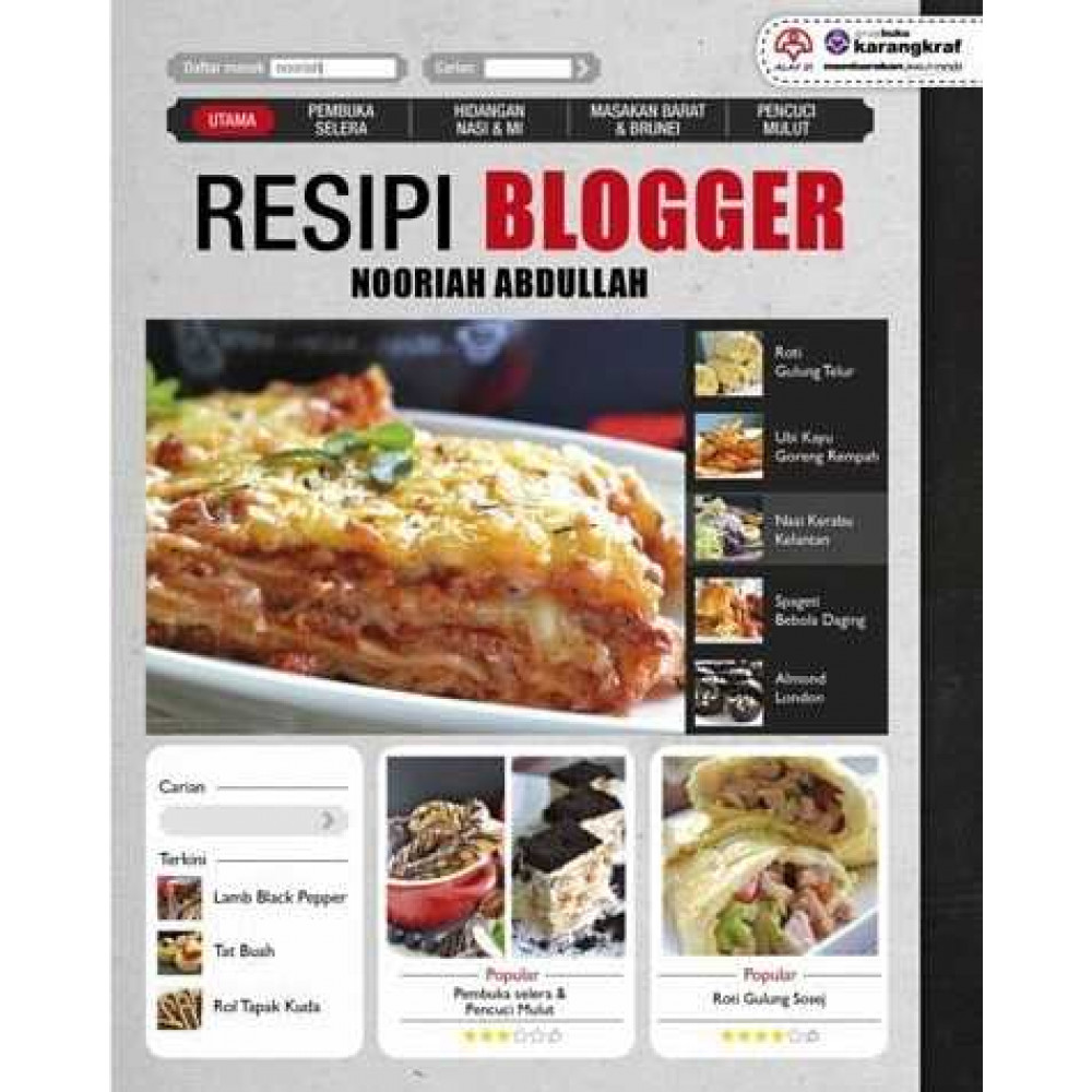 resipi blogger