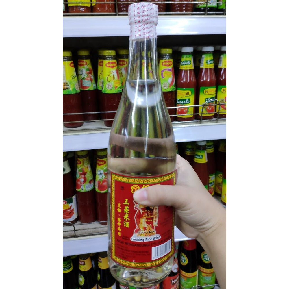 "Chai Sin""J"" Cooking Rice Wine 640ml"