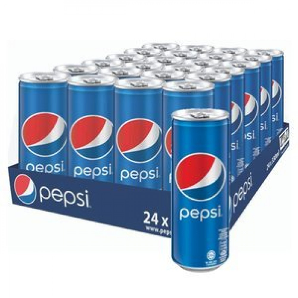 Pepsi Cola Carbonated Drink (24cans x 320ml ) 1 carton