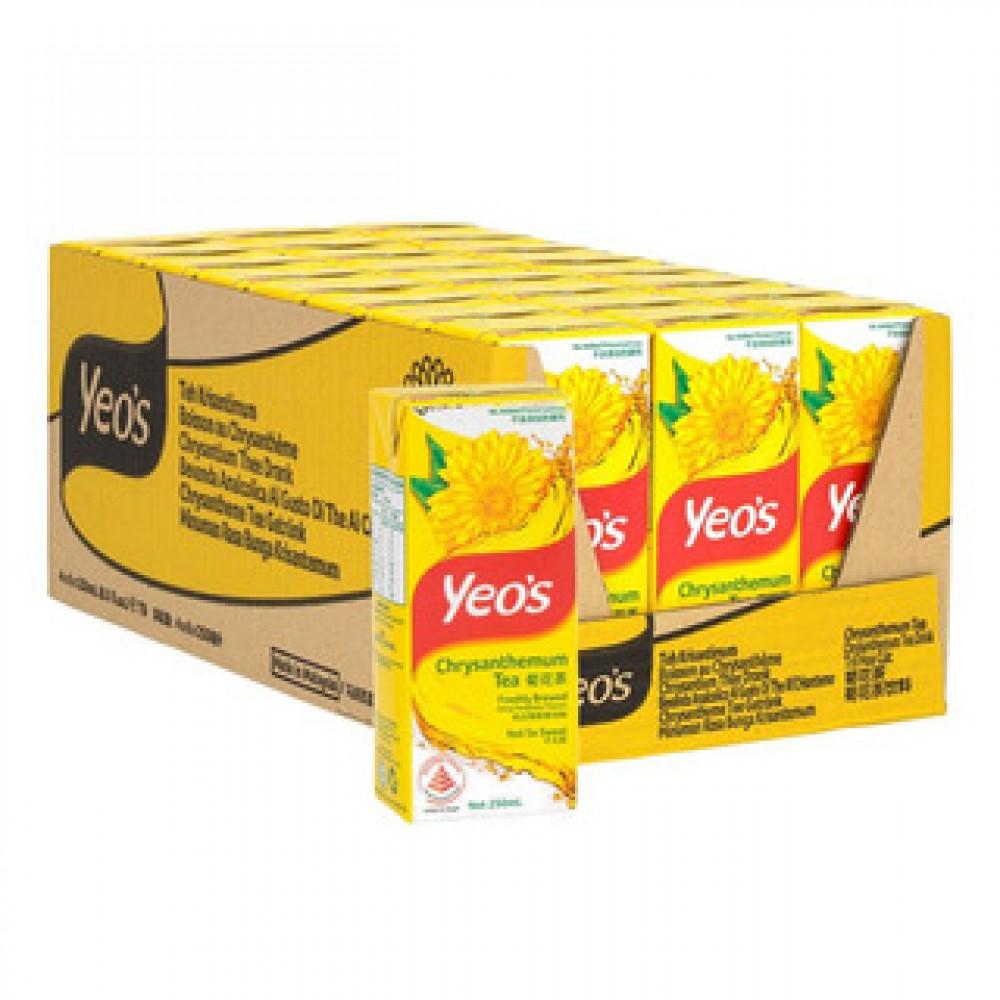 Yeo's Chrysanthemum Tea (24s x 250ml) 1 carton