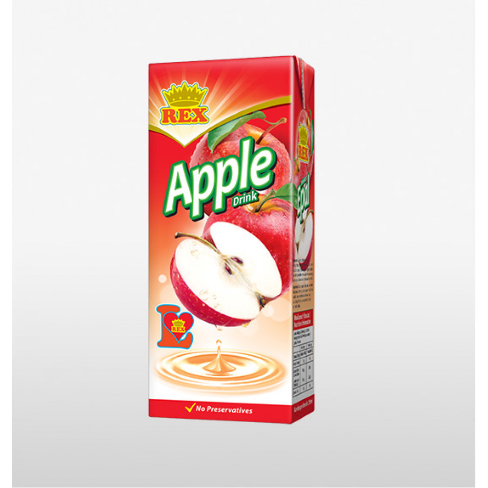 Rex Apple Drinks (24s x 250ml) 1 carton