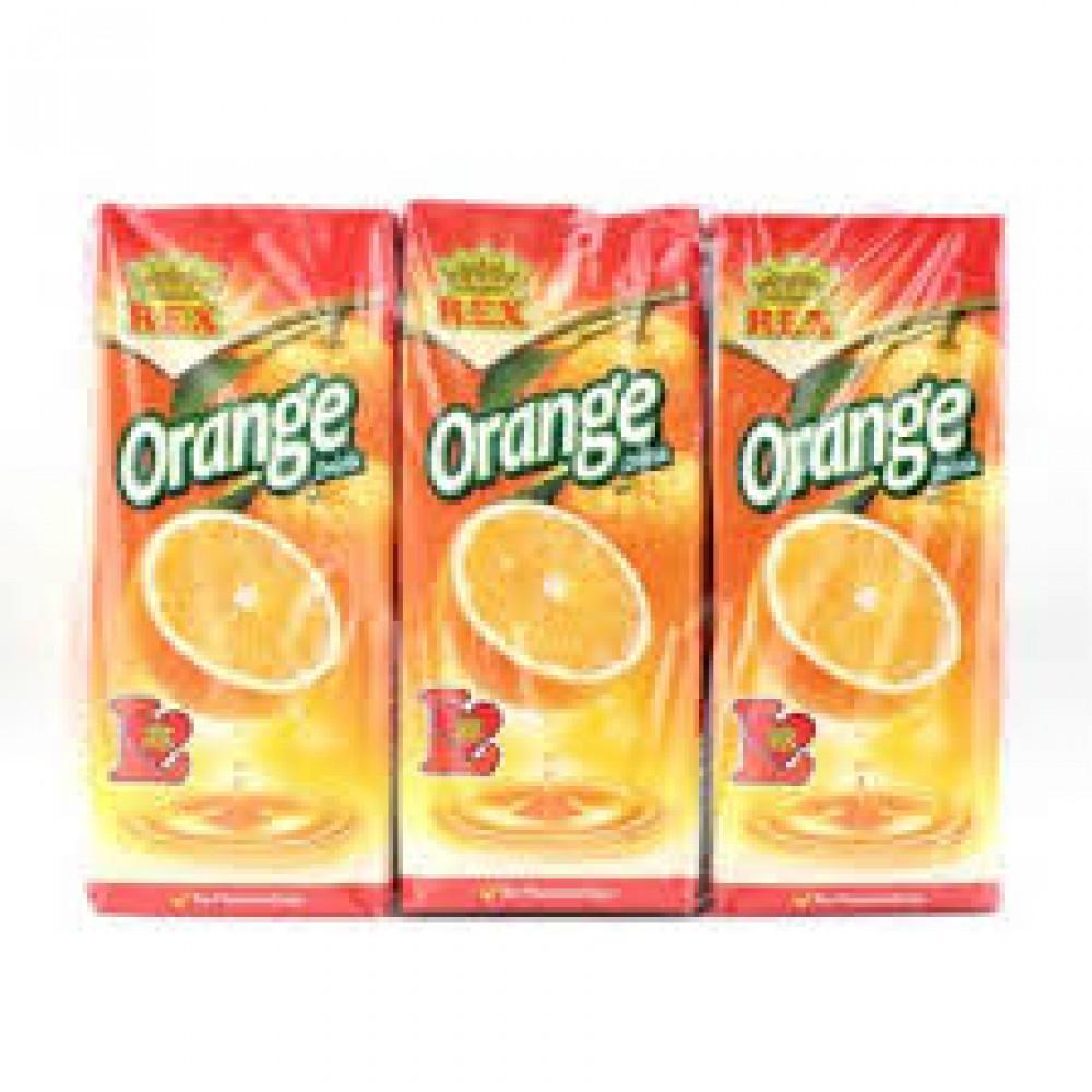REX Orange Drinks (24s x 250ml) 1 carton