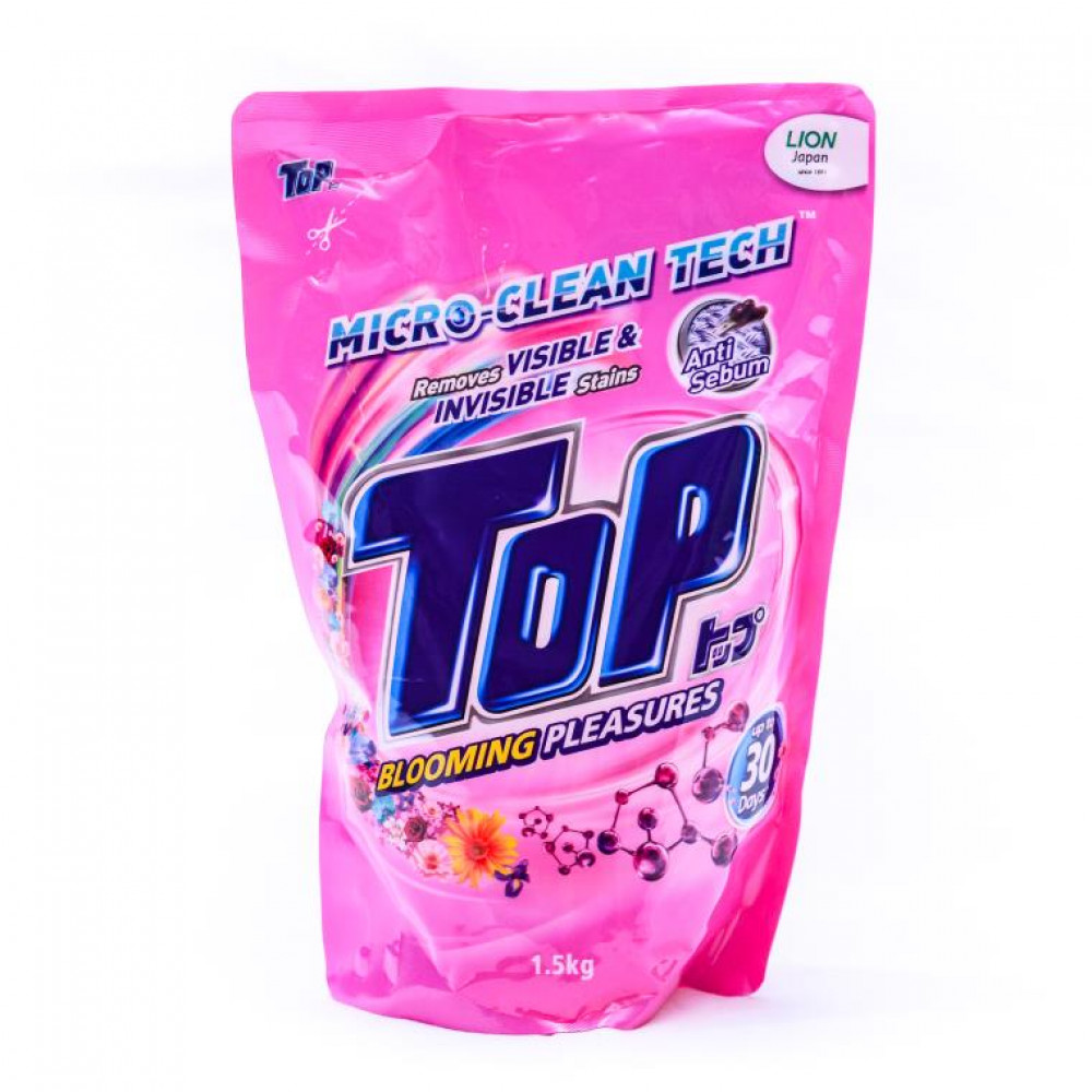 Top Blooming Pleasures Micro-Clean Tech Liquid Detergent Refill 1.5kg
