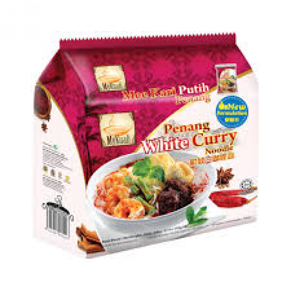 MyKuali Penang White Curry Noodle 4x110g