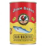AYAM BRAND MACKEREL IN TOMATO SAUCE 425G