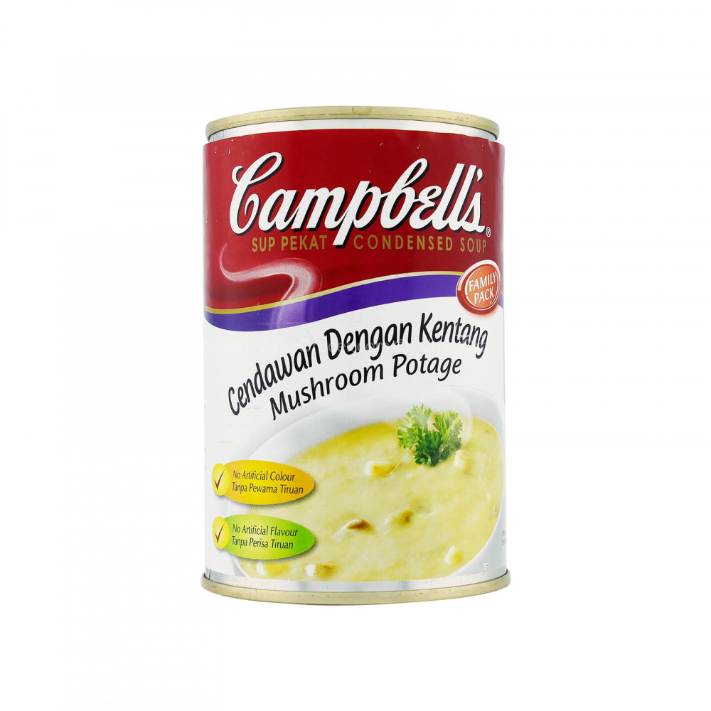 Campbell's Mushroom Potage Condensed Soup 305g