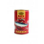 Rex Sardines in Tomato Sauce Sardin Ketchup Dalam Tin 425g