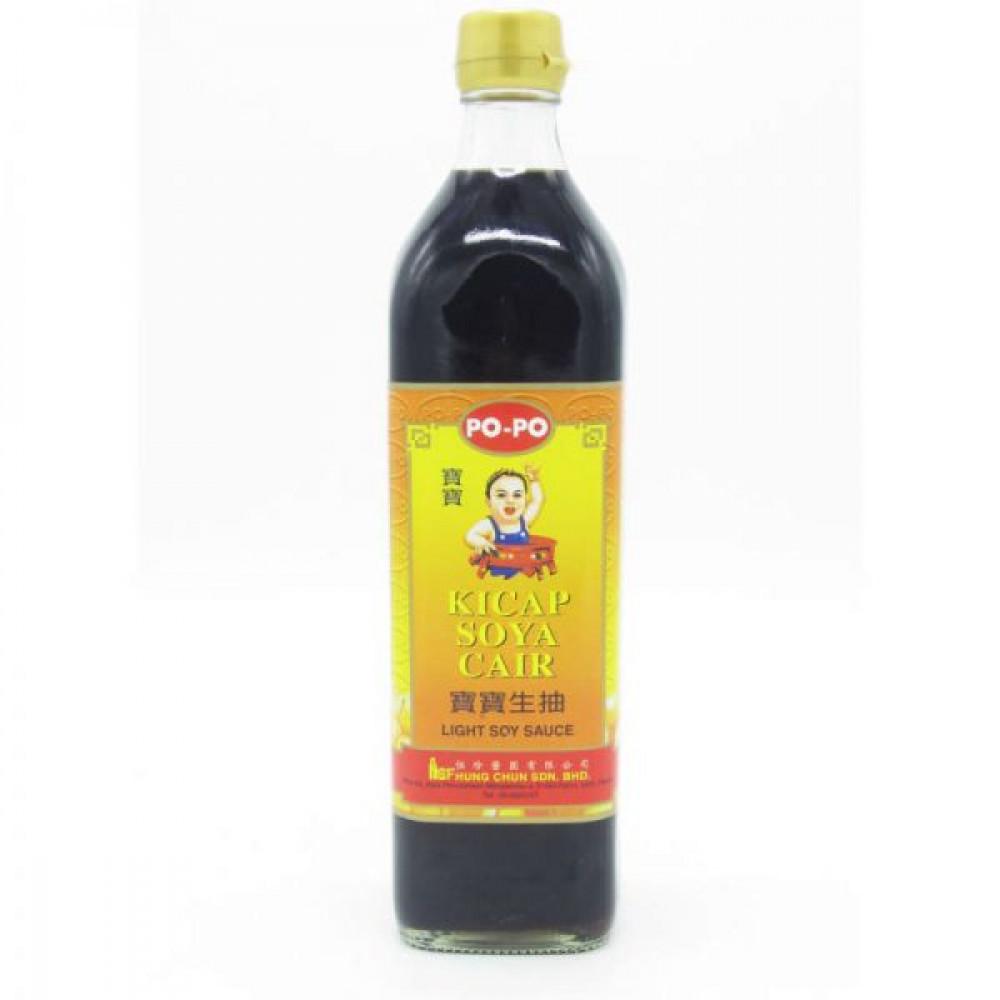 Popo Brand Light Soy Sauce 720ml