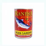 Ranesa Sardines In Tomato Sauce 400g