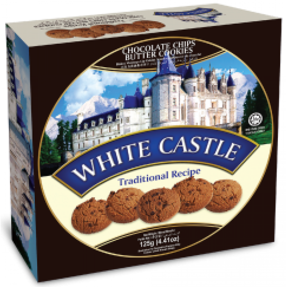 White Castle Chocolate Chips Butter Cookies 125g
