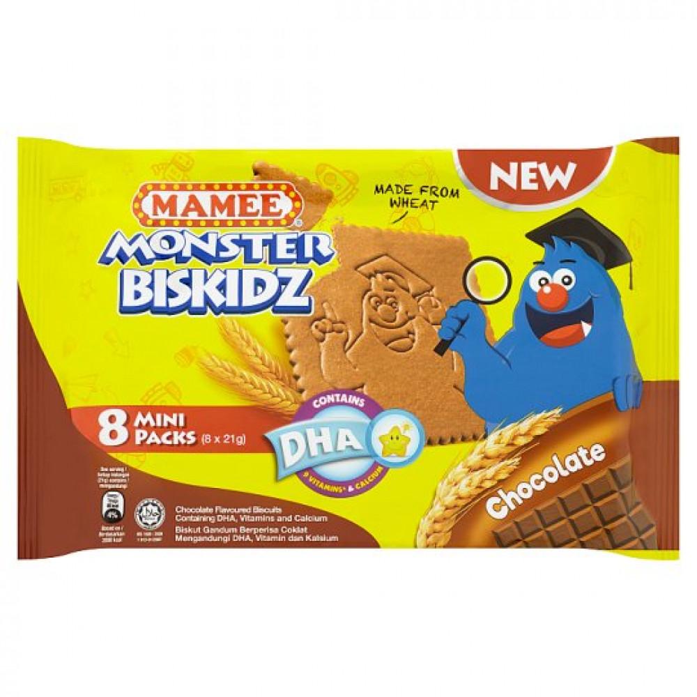 MAMEE Monster Bizkid Chocolate 168g