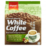 SUPER 3IN1 CHARCOAL ROASTED WHITE COFFEE ROASTED HAZELNUT 15 X 36G (540G)