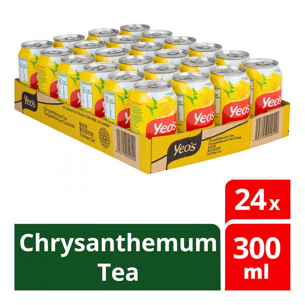 Yeo's Chrysanthemum Tea (24s x 300ml) 1 carton