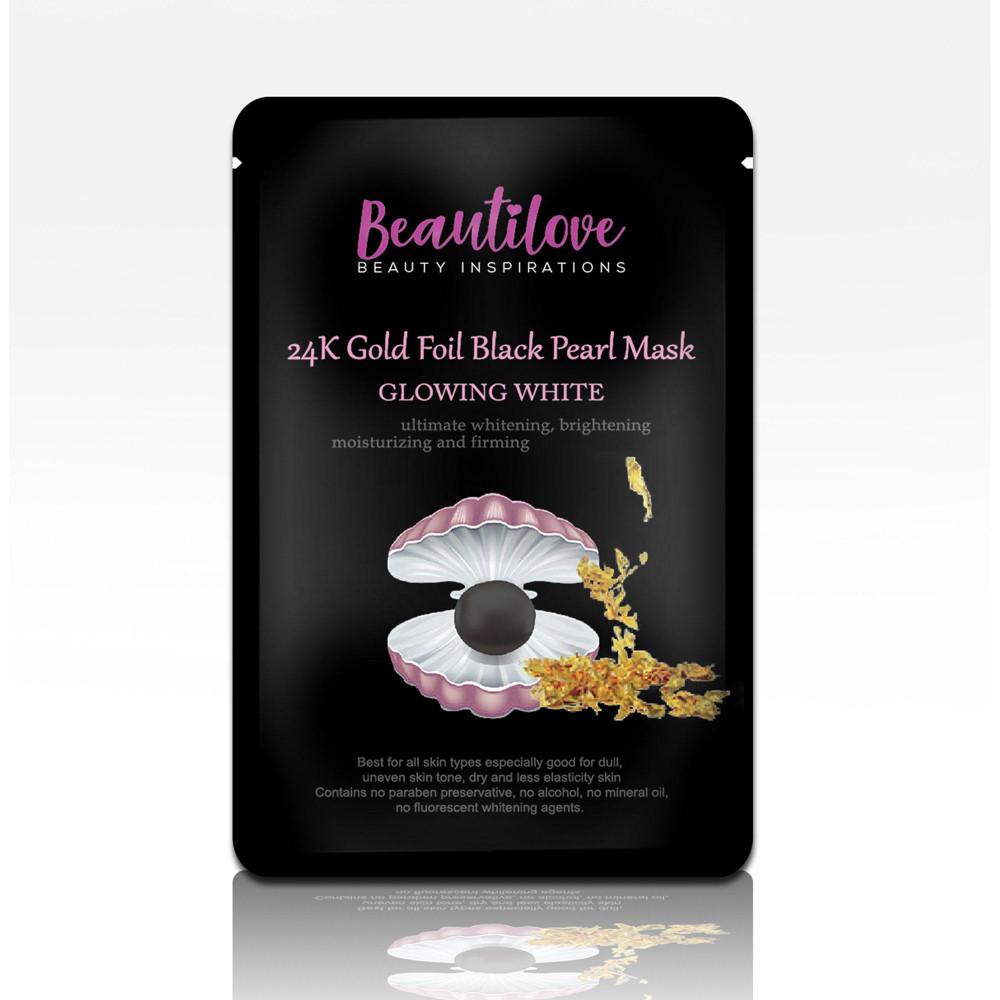 BEAUTILOVE 24K GOLD FOIL 1'S BLACK PEARL