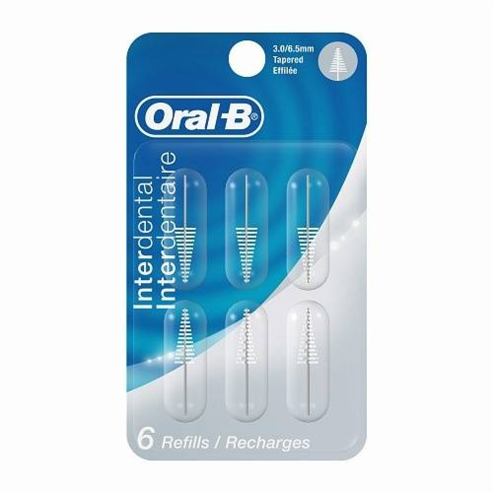 ORAL B TAPERED REFILL 6`S