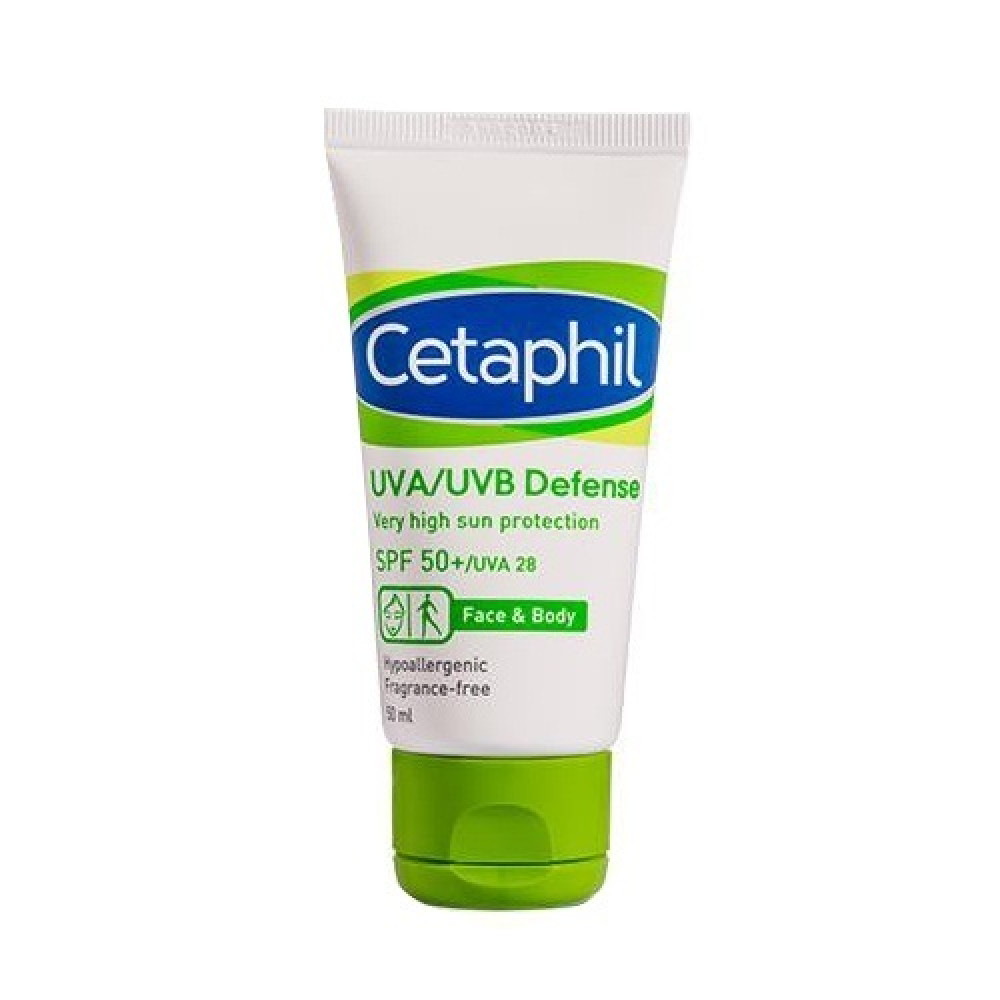 CETAPHIL UVA UVB DEFENSE SPF50+