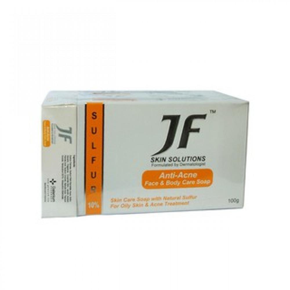 JF SULFUR 10% ANTI-ACNE SOAP 100G