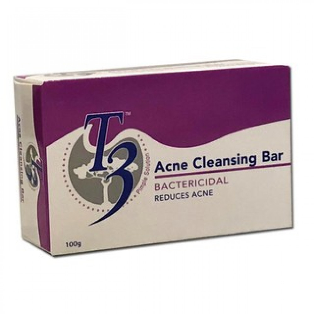 T3 ACNE CLEANSING BAR 100G