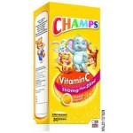 CHAMPS Vitamin C Plus Zinc Effervescent (250mg x 30's)