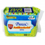 PUREEN ANTIBAC WIPES TISSUE 30'S X2