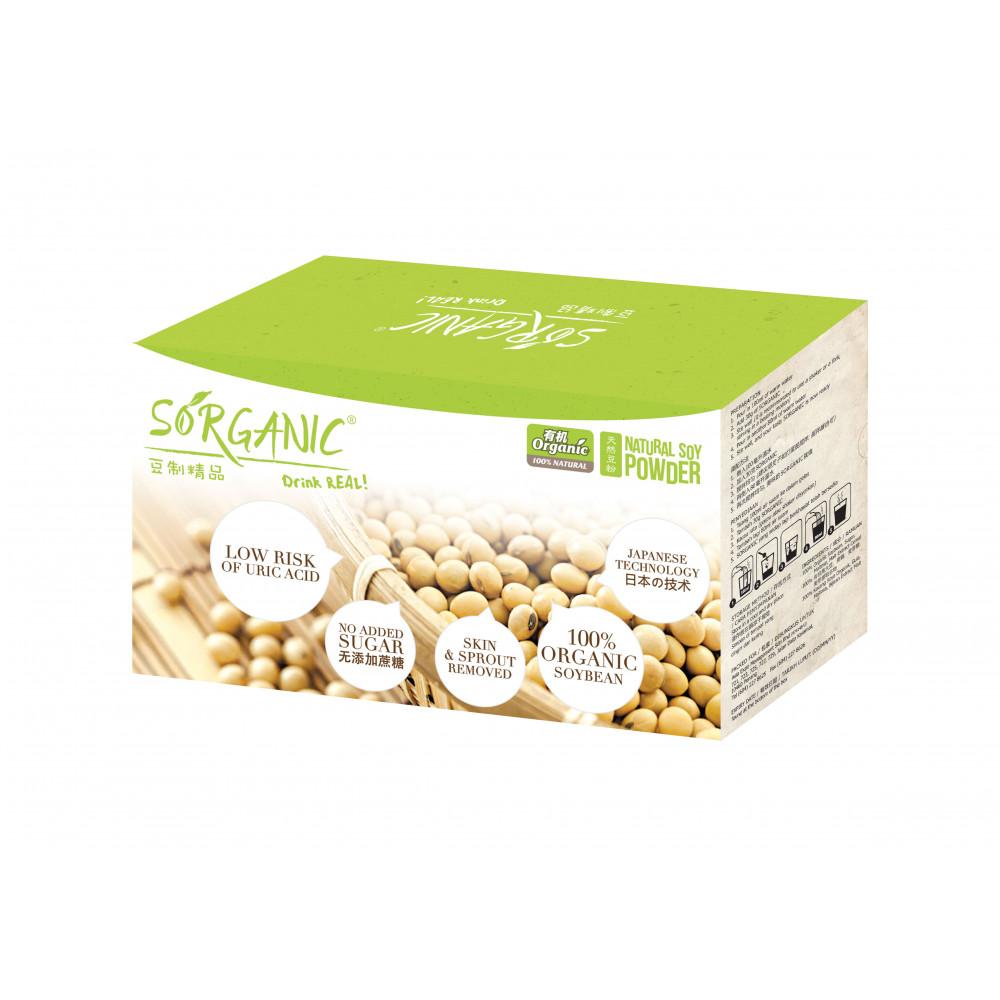 Sorganic Natural Soy Powders (550g)