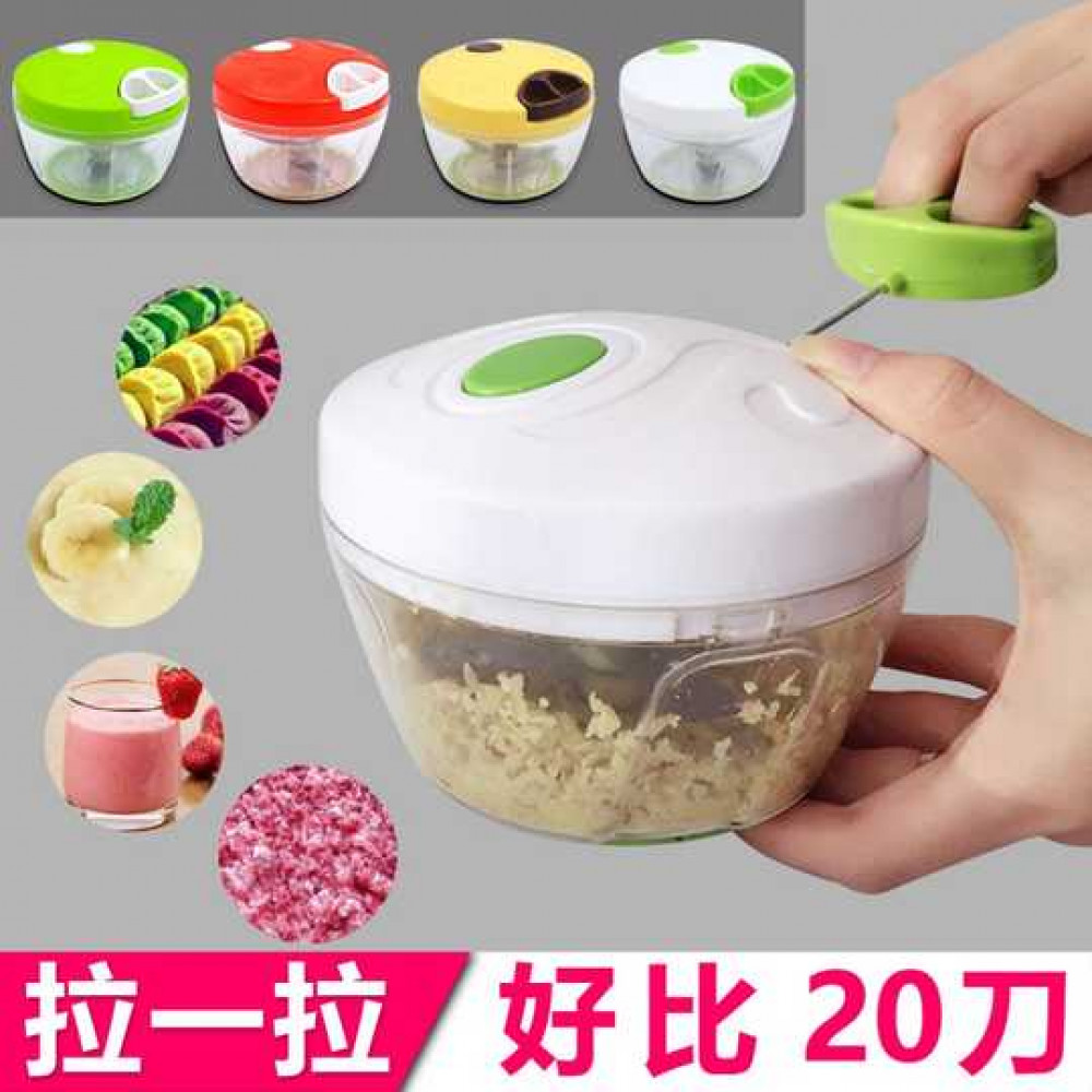 Mini Manual Food Garlic Chopper Hand Pull Mincer Blender Meat Vegetable Cutter Chopper Processor Crusher Kitchen Tools