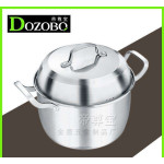 DOZOBO 26CM/30CM 304 STAINLESS STEEL POT