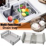 Adjustable Stainless Steel Drain Rack/ Dish Rack