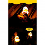 B.DUCK Silicone Touch Sensor LED Night Light Toy Four Brights USB LED Luminous Home Decoration Children's Funny Toy Gift