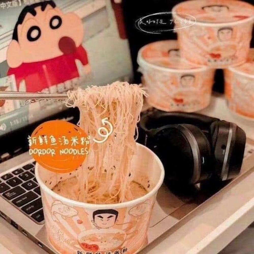 Dor Dor 多多多多新鲜鱼汤米粉 马来西亚独家品牌 独特口味 新鲜食材 Fresh Fish Soup Bihun INSTAND NOODLES