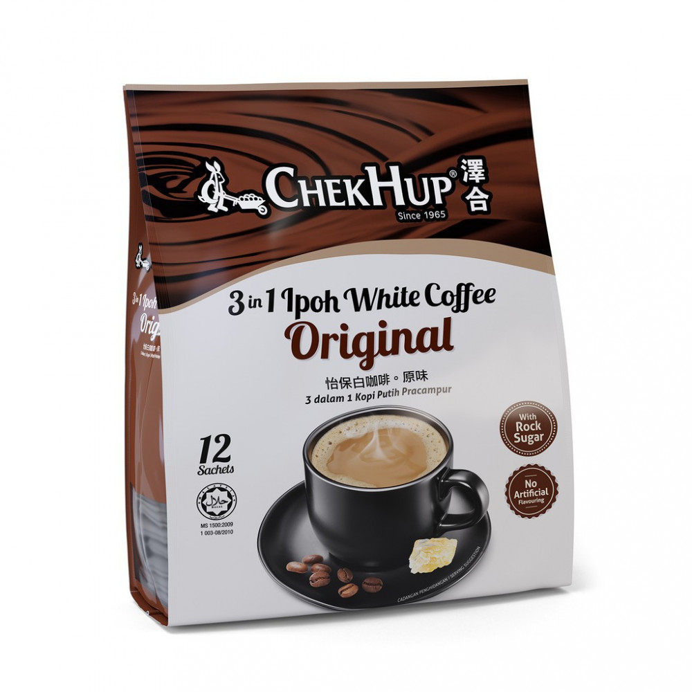 Chek Hup 3 in 1 Ipoh White Coffee Original (40gm x 12's)