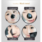 BIOAQUA Blackhead Activated Carbon Suction Nose Facial Blackhead Remover Mask