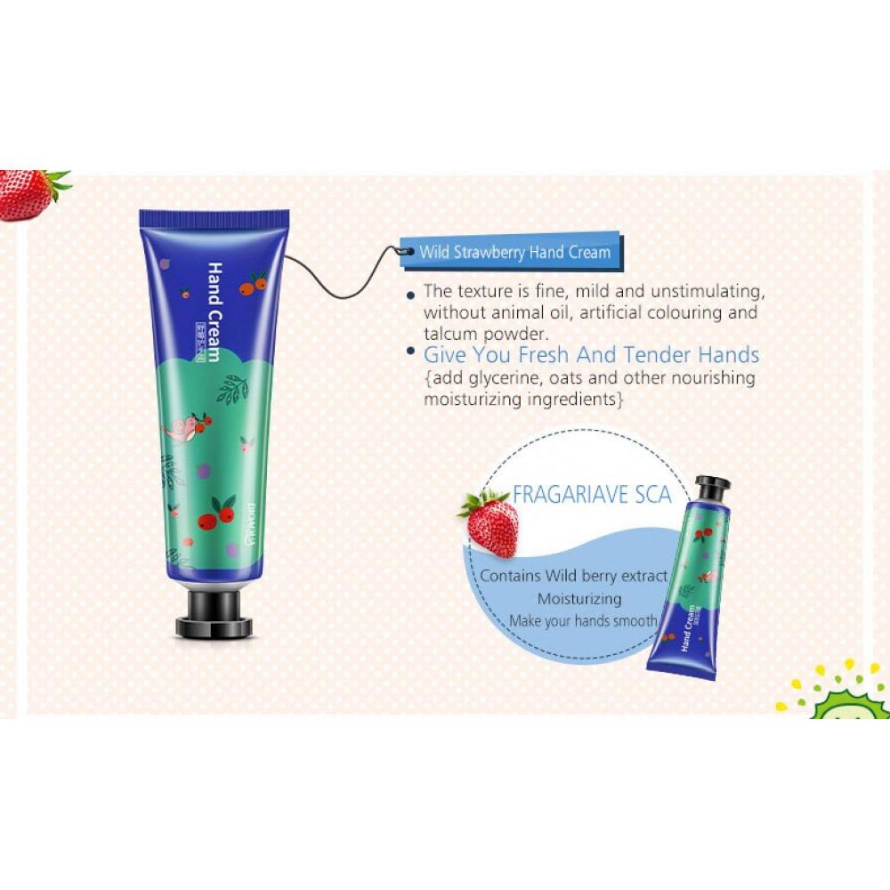 Raspberry BIOAQUA Moisturizing Anti-drying Exfoliating Hand Cream