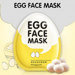 Bioaqua Smooth Moisturizing Egg Facial Mask Oil Control Pores Whitening Brighten Mask Skin Care