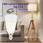 Otali Led Ice Cream Bulb 5W E14 Warm White
