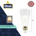 Otali Led Ice Cream Bulb 8W E27 Warm White