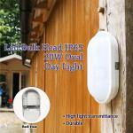 Led Bulk Head Lamp IP65 20W Oval White Day Light
