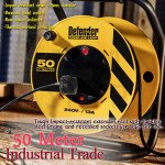 DEFENDER Industrial Trade 50 Meters (Power Cord) l E86582