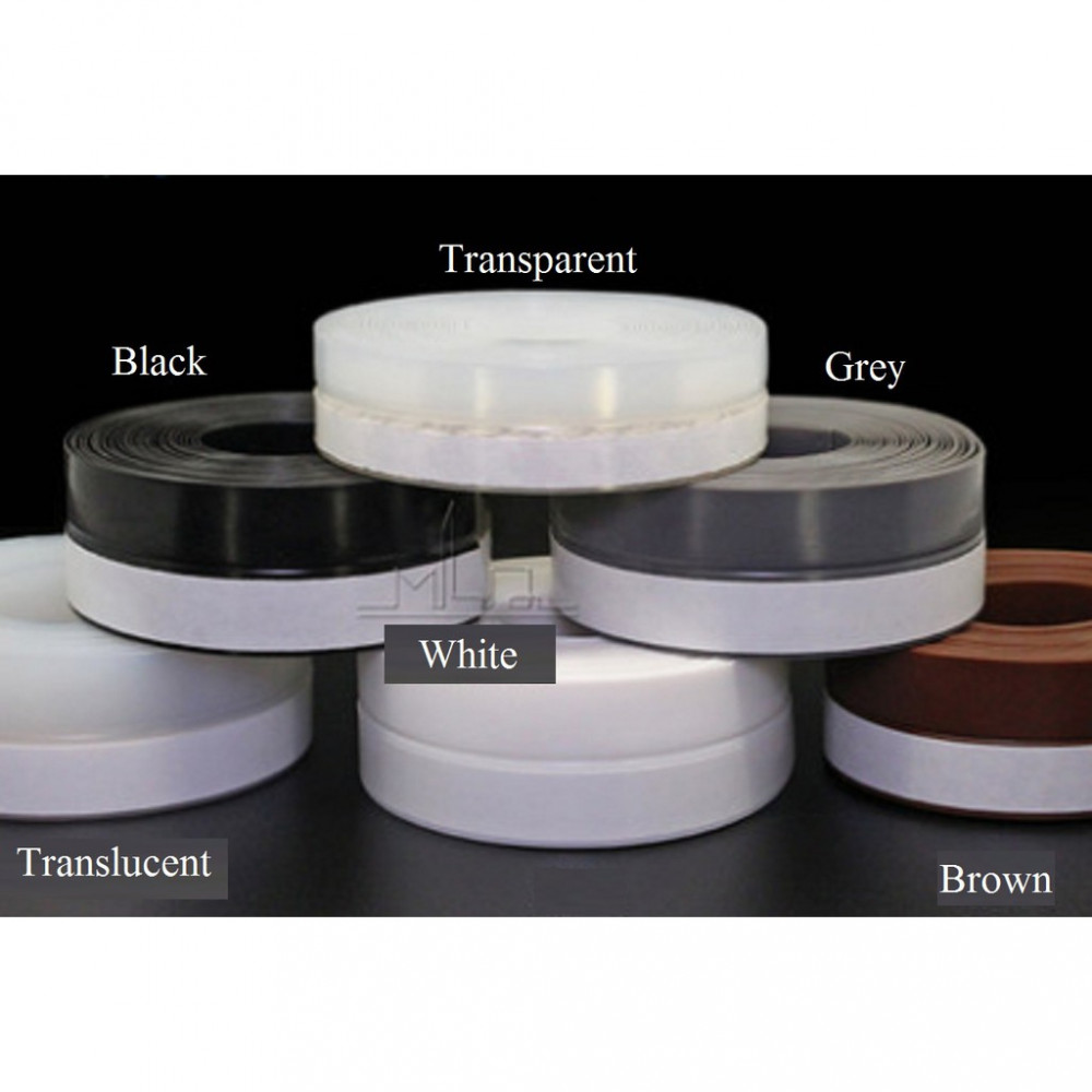45mm Universal Adhesive Silicone Rubber Seal Strip Tape Door Windows Seal