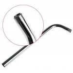 [HB414] 50cm Bathroom Wall Shower Arm Extension Stainless Steel Water Bend Pipe