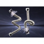 [HB191] High FLOW Basin Toilet 304 Stainless Steel Corrugated Tube Bellow Hose