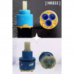 [HK8313] Original 35&22mm Rain Shower Diverter Valve Ceramic Stem Disc Cartridge