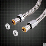 1.5M High Quality Bathroom Shower Head Stainless Steel Flexible Hose