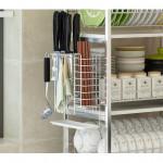 [HK99] 304 stainless steel 3 - Layer Multifunction Bowl Dish Rack / Rak Pinggan